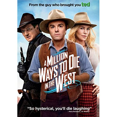Image 0 of A Million Ways To Die In The West On DVD With Seth Macfarlane Comedy