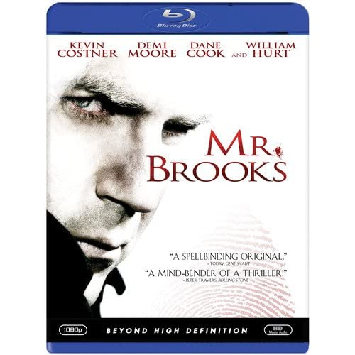 Image 0 of Mr Brooks Blu-Ray On Blu-Ray With Kevin Costner Mystery