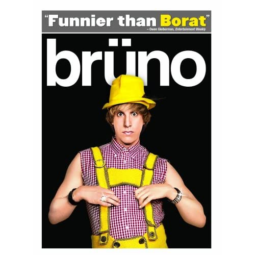 Image 0 of Bruno On DVD With Sacha Baron Cohen Comedy