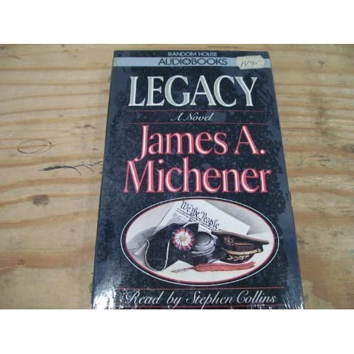 Image 0 of Legacy By James A Michener On Audio Cassette