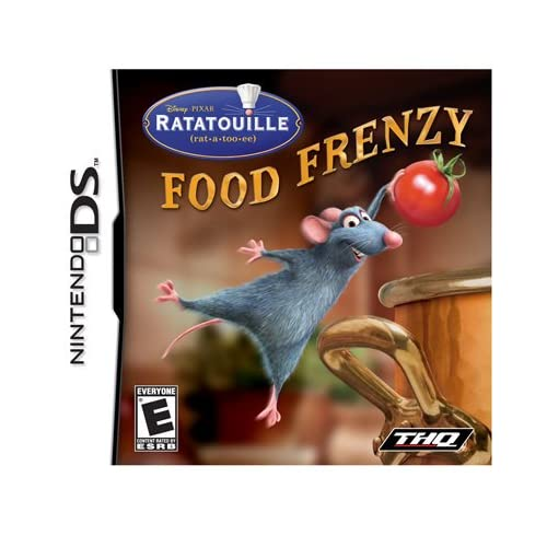 Image 0 of Ratatouille Food Frenzy Nintendo For DS