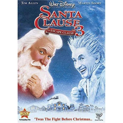 Image 0 of The Santa Clause 3 The Escape Clause On DVD With Tim Allen Disney Comedy