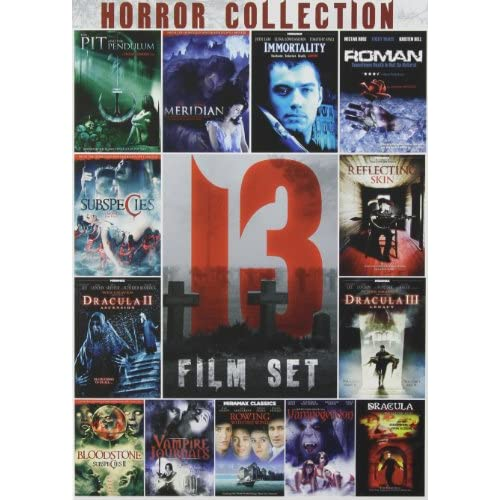 13-FILM Horror Collection 1 On DVD