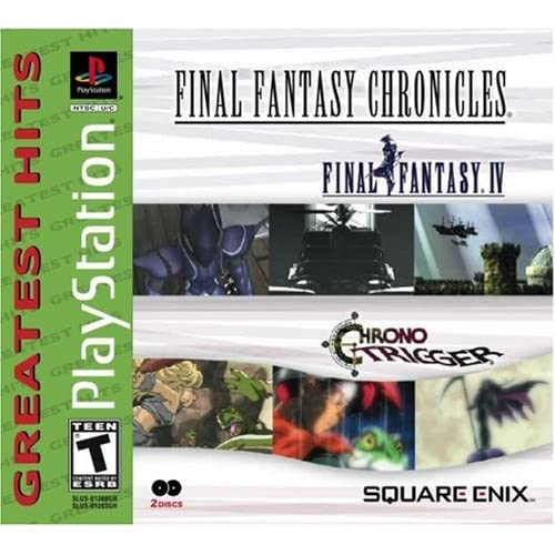 Image 0 of Final Fantasy Chronicles: Chrono Trigger/final Fantasy IV For PlayStation 1 PS1