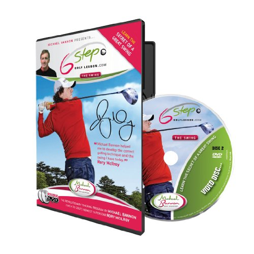 Image 0 of 6 Step Golf Michael Bannon Coach To Rory Mcilroy On DVD