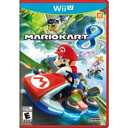 Mario Kart 8 Nintendo Wii U With Case