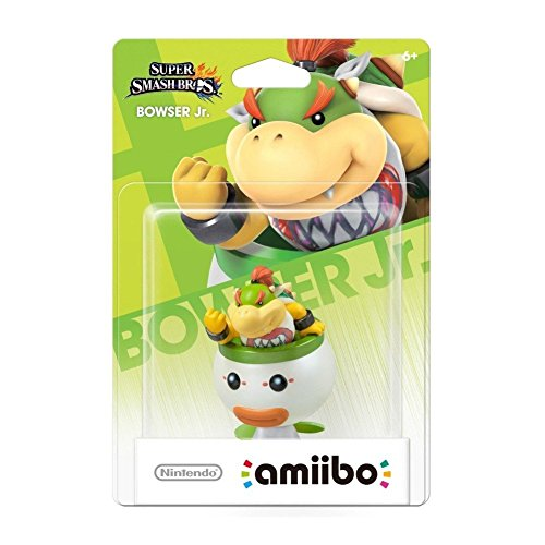 Image 0 of Bowser Jr Amiibo Super Smash Bros Series For Wii U Figure Character