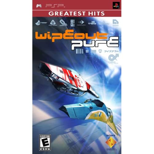 Image 0 of Wipeout Pure Sony For PSP UMD Racing