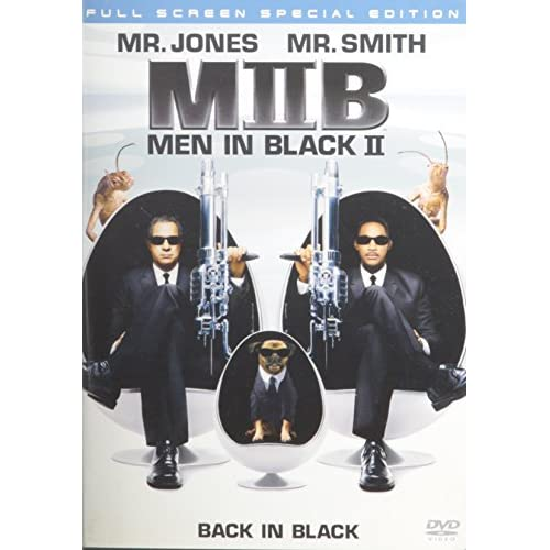 Men In Black II Full Screen Special Edition On DVD With Tommy Jones