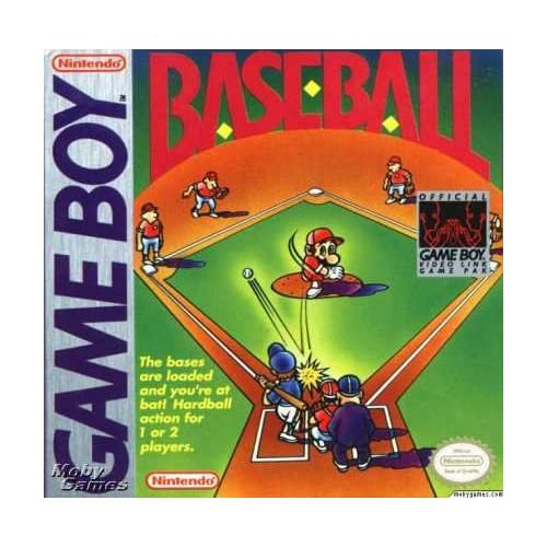 Baseball On Gameboy