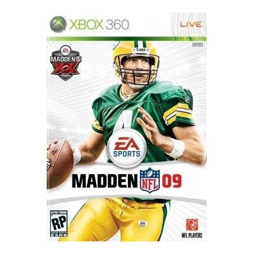 Electronic Arts 108805 Madden NFL 09 For Xbox 360 Football With Manual