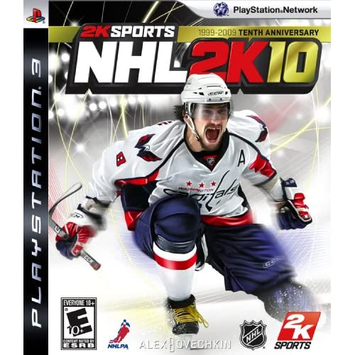 NHL 2K10 For PlayStation 3 PS3 Hockey