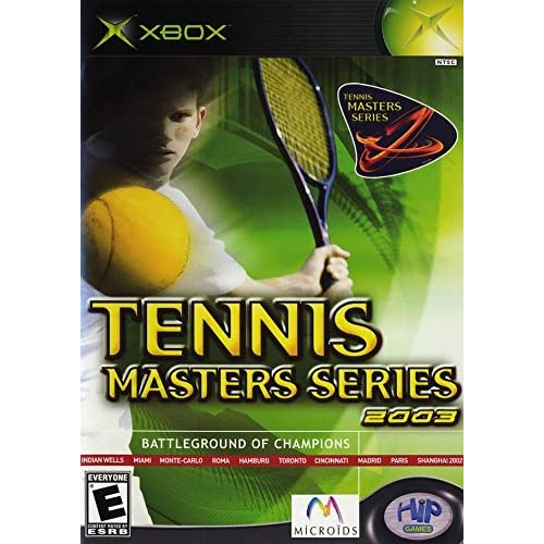 Image 0 of Tennis Masters Series 2003 Battle Ground Of Champions For Xbox Original