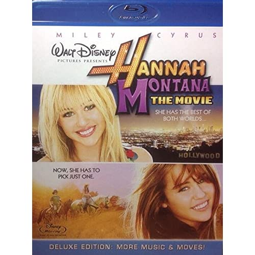 Hannah Montana: The Movie Blu-Ray/ Rental Ready On Blu-Ray