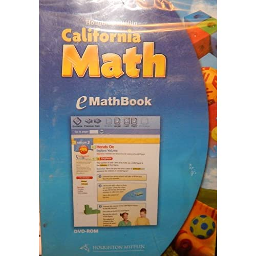 E Mathbook Lv 2 California Math Software