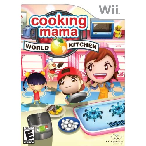 Cooking Mama World Kitchen For Wii