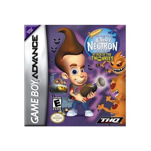 Image 0 of Jimmy Neutron: Attack Of Twonkies For Nintendo Game Boy Advance For GBA Gameboy
