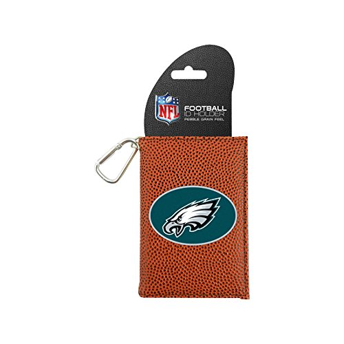 Image 0 of NFL Philadelphia Eagles Classic Football ID Holder One Size Brown