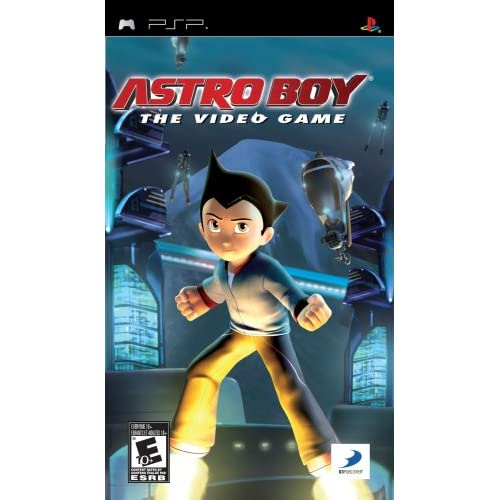 Image 0 of Astro Boy: The Video Game Sony For PSP UMD