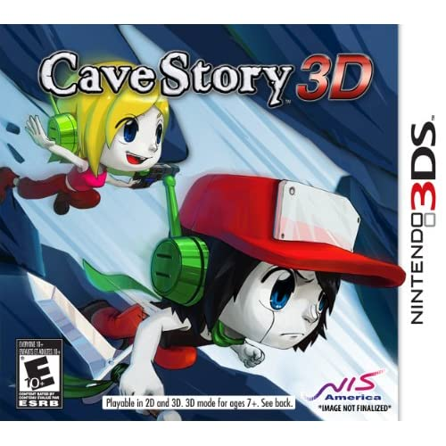 Cave Story 3D Nintendo For 3DS