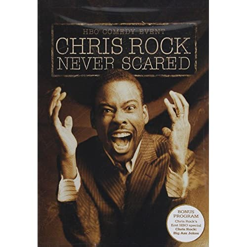 Image 0 of Chris Rock Never Scared On DVD Comedy