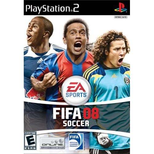 FIFA 08 For PlayStation 2 PS2 Soccer