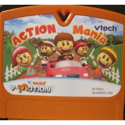 Image 0 of V Smile V Motion Action Mania Game Cartridge For Vtech