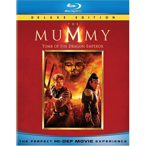 Image 0 of The Mummy: Tomb Of The Dragon Emperor Blu-Ray On Blu-Ray With Brendan Fraser