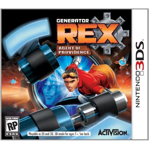 Generator Rex Nintendo For 3DS With Manual and Case