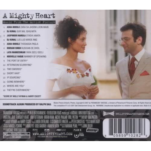 Image 2 of A Mighty Heart Music From The Motion Picture On Audio CD Album 2007