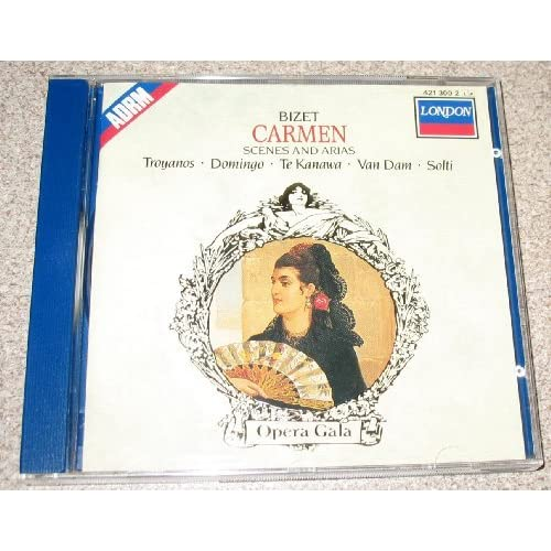 Image 0 of Bizet: Carmen Scenes And Arias By Georges Bizet Composer Georg Solti Conductor L