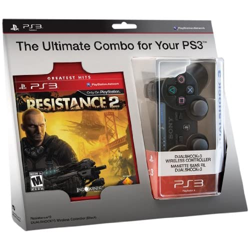Image 0 of Resistance 2 And Dualshock 3 Controller Bundle PlayStation 3