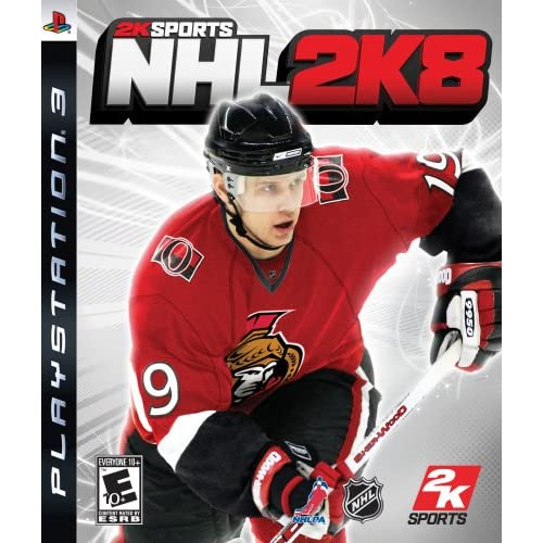 Image 0 of NHL 2K8 For PlayStation 3 PS3 Hockey