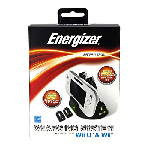 Energizer 3X Charge Station For Wii U Charging PL-8507