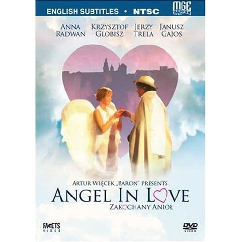 Image 0 of Angel In Love Zakochany Aniol On DVD with Krzysztof Globisz Romance