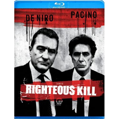 Image 0 of Righteous Kill Blu-Ray On Blu-Ray With Robert De Niro Mystery
