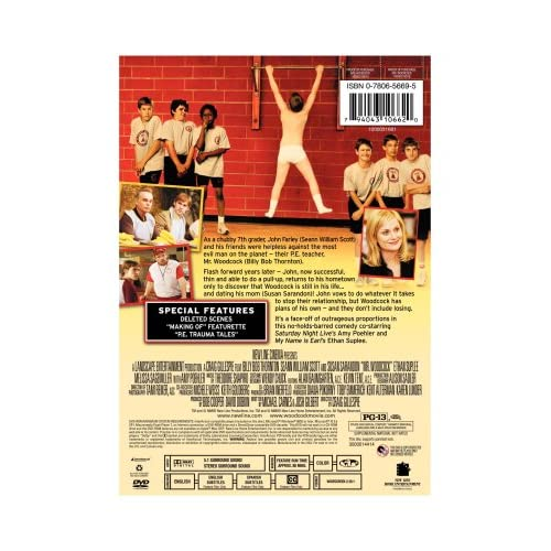 Image 2 of Mr Woodcock On DVD with Billy Bob Thornton Comedy