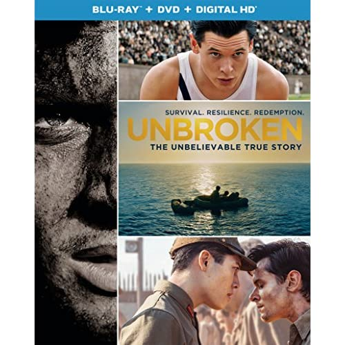 Image 0 of Unbroken Blu-Ray DVD Digital HD With Ultraviolet On Blu-Ray With Jack O'connell