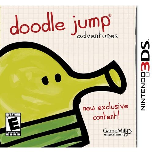 Doodle Jump Nintendo For 3DS