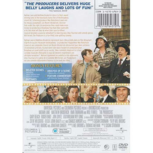 Image 3 of The Producers Widescreen Edition On DVD With Nathan Lane Comedy