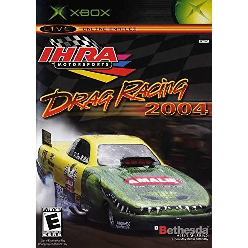 IHRA Drag Racing 2004 For Xbox Original With Manual and Case
