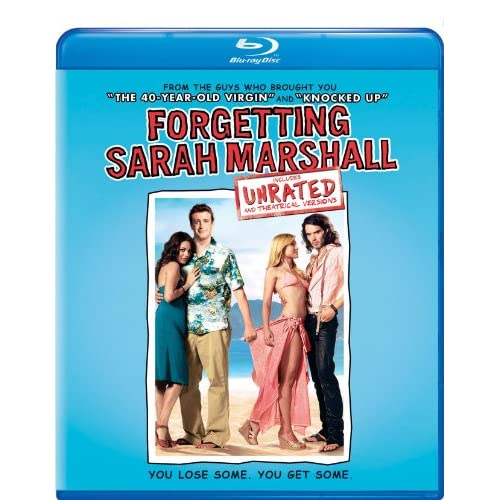 Forgetting Sarah Marshall Blu-Ray On Blu-Ray With Jason Segel