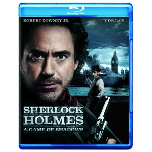 Image 0 of Sherlock Holmes: A Game Of Shadows Movie-Only Edition Blu-Ray On Blu-Ray With Ro