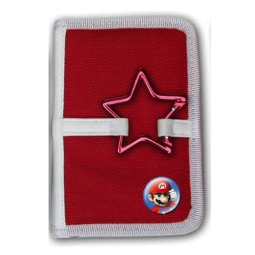 Image 0 of Nintendo / Lite Red Buckle Mini Folio Case Mario For DS