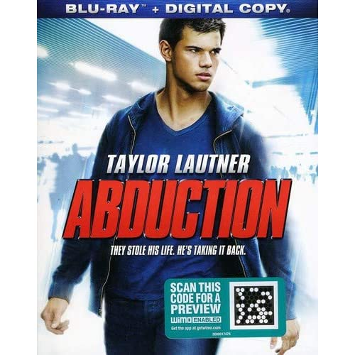 Abduction On Blu-Ray With Taylor Lautner