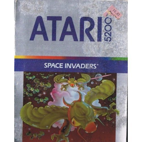 Space Invaders For Atari 2600 Vintage