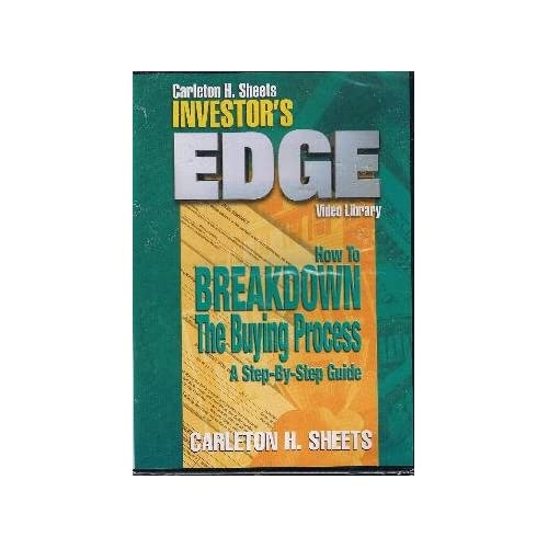Image 0 of Carleton H Sheets Investor's Edge How To Breakdown The Buying Process On DVD