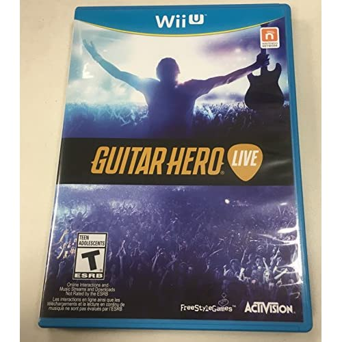 Image 0 of Guitar Hero: Live For Wii U Game Only Music