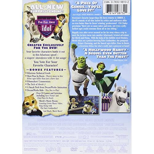 Image 3 of Shrek 2 Full Screen Edition On DVD With Mike Myers