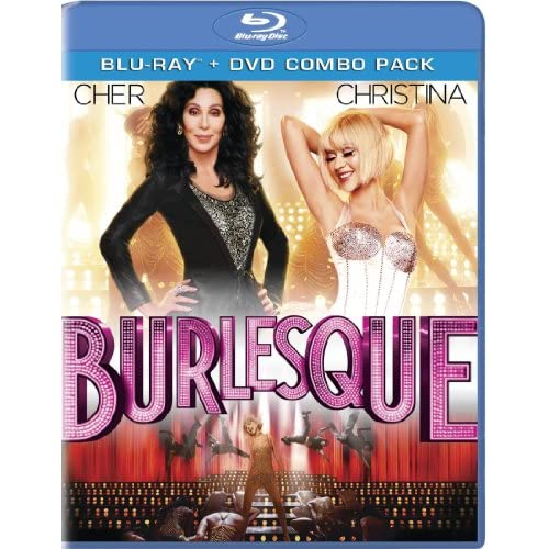 Image 0 of Burlesque Two-Disc Blu-Ray/dvd Combo On Blu-Ray With Cher 2 Drama